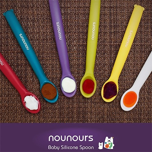 Nounours Silicon Spoon