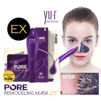 YU R PORE Remodeling Mask EX + Cleaning Pad 10 ea