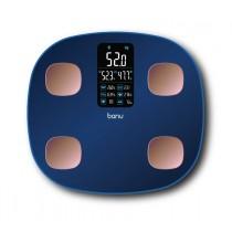 [banu] Smart Body Fat Scale - BLUE