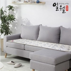 [ILWOUL] Cushion for Sofa Electric Heating Mat [134 cm x 48 cm]